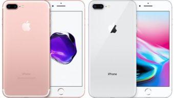 Qual a diferença entre o iPhone 7 Plus e o 8 Plus?