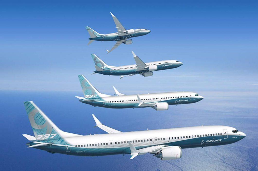 Linha Boeing 737 Max