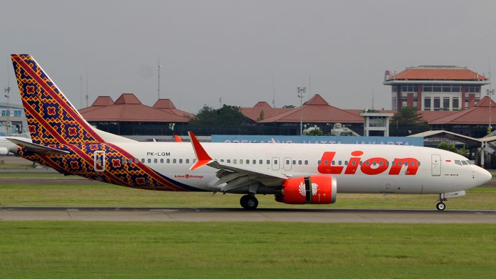 Lion Air's Boeing 737 Max 8 (photo: Bathara Sakti / Flickr)