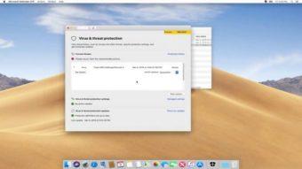 Microsoft lança prévia de antivírus para macOS