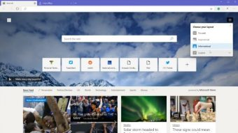 Microsoft Edge traz modo escuro e extensões do Chrome em beta vazado