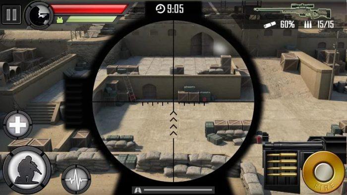Modern Sniper / jogos que ocupam pouco espaço