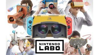 Nintendo Switch ganha Labo de realidade virtual