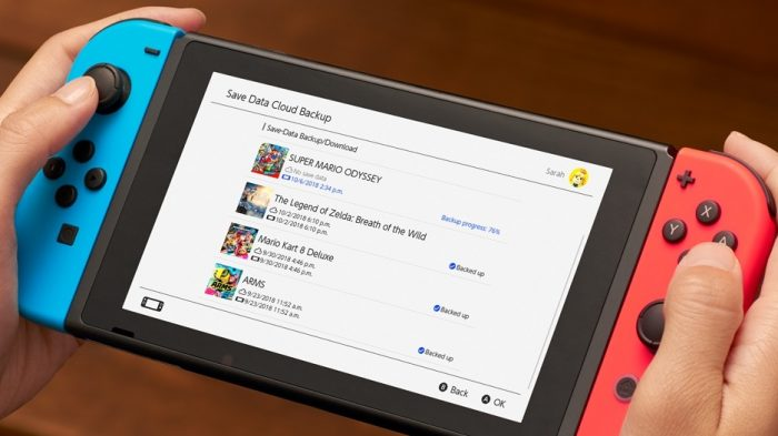 Nintendo Switch (Imagem: Divulgação/Nintendo)