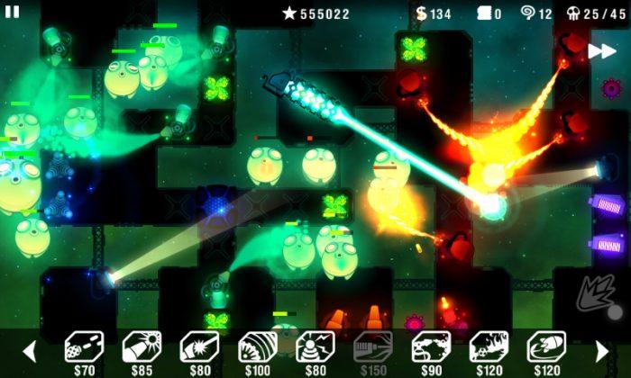 Radiant Defense / jogos que ocupam pouco espaço