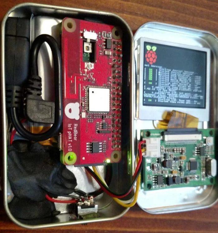 Raspberry Pi Zero numa lata de balas / o que fazer com raspberry pi