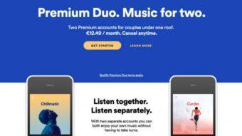 Spotify testa Premium Duo como alternativa ao plano familiar