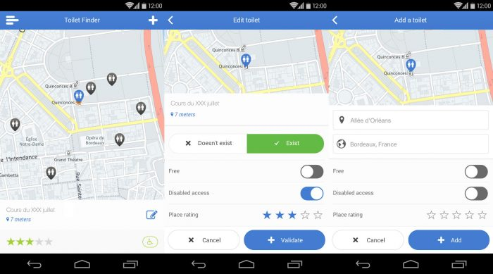 Android / Toilet Finder / banheiro