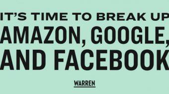 O plano da senadora dos EUA que quer dividir Amazon, Apple, Facebook e Google