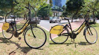 Yellowlançaserviço de bicicletas com auxílio elétrico em São Paulo