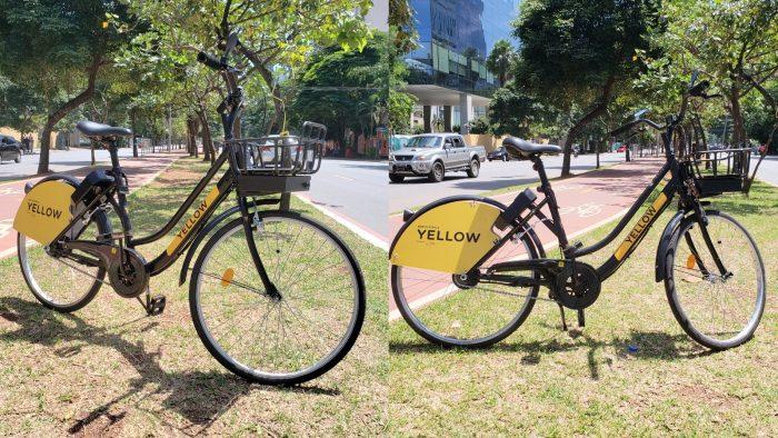 Yellow - bicicleta elétrica