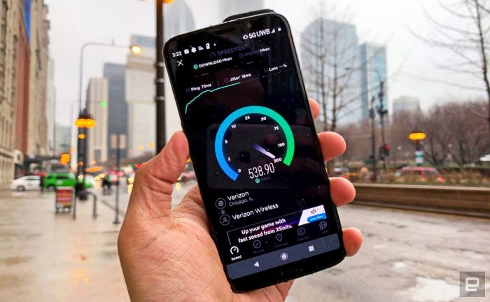 5G da Verizon (Foto: Engadget)