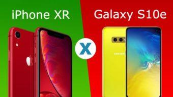 Comparativo: Galaxy S10e ou iPhone XR; qual colorido é melhor?