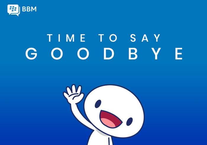 BBM - adeus