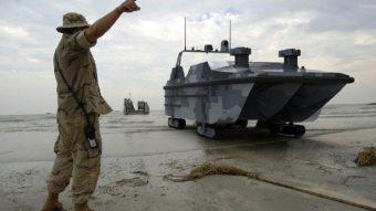 China constrói veículo militar anfíbio autônomo