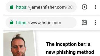 Chrome permite golpe com falsa barra de endereços em Android e iOS