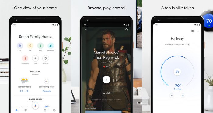 Google Home / mirror cast