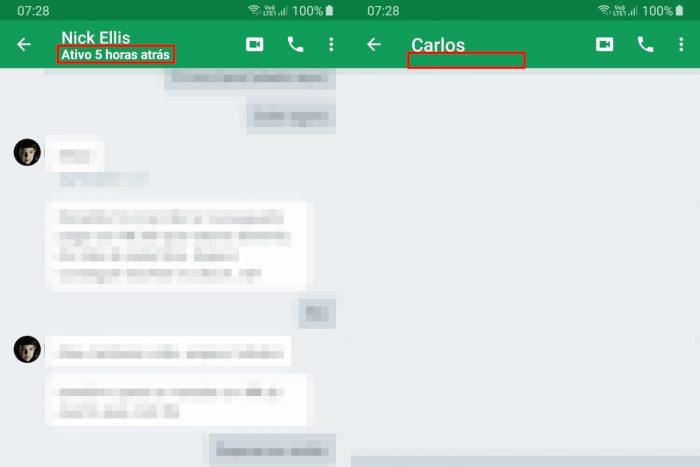 Android / Hangouts / Como saber se a pessoa esta online no Google Hangouts