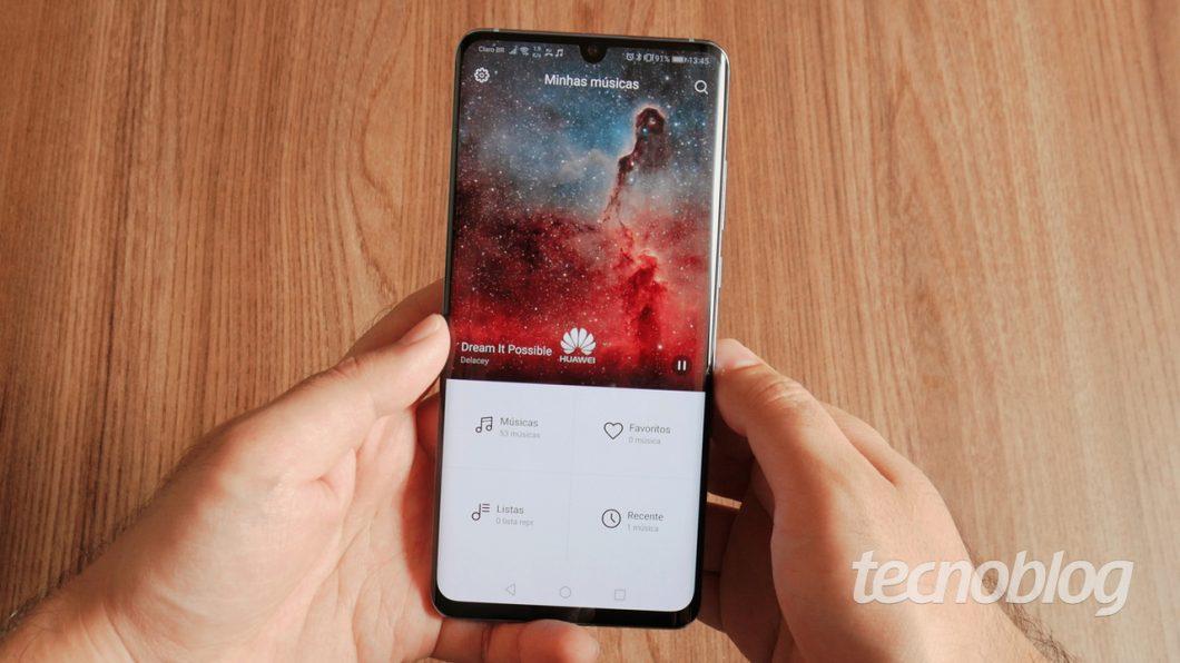 Huawei P30 Pro, recém-lançado no Brasil