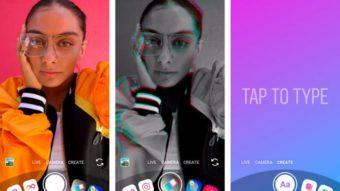 Instagram Stories ganha câmera com novo visual e modo Create