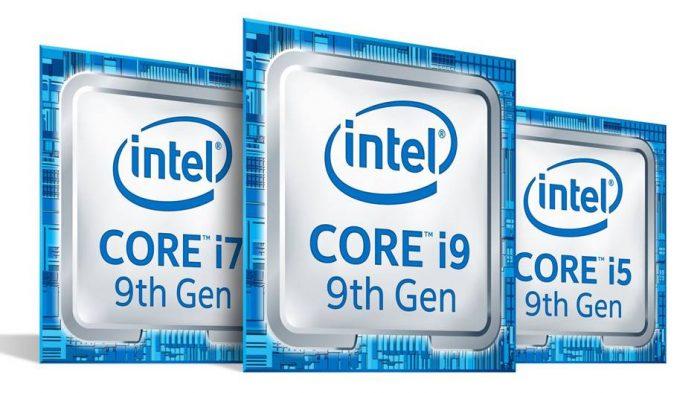 Intel Core i5, i7 e i9 de 9ª geração
