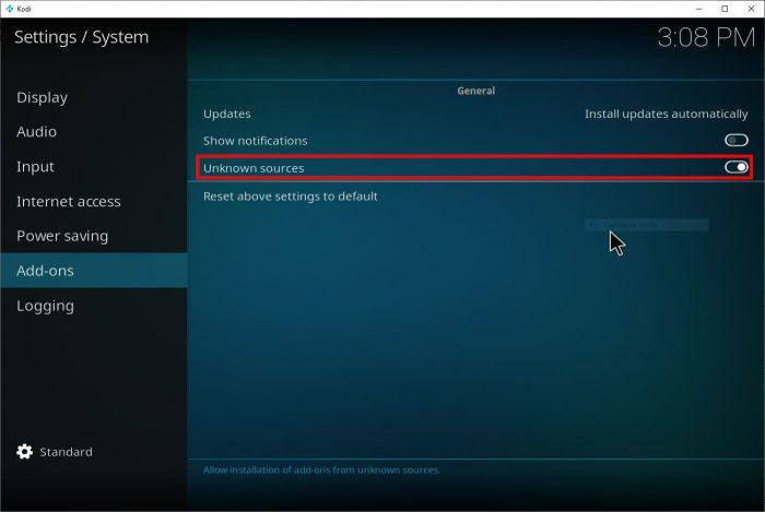 Kodi / como configurar o kodi