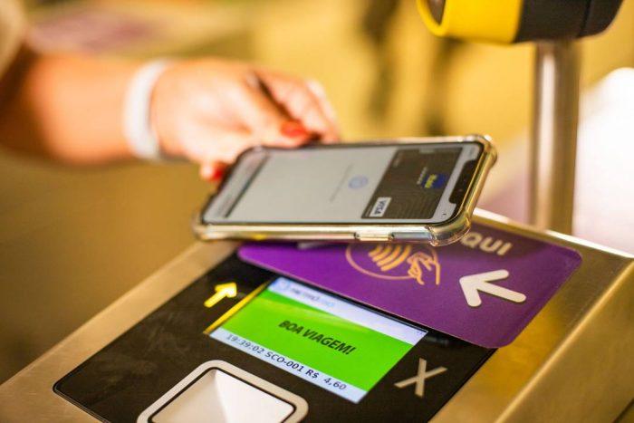 MetrôRio: pagamento via aproximação com smartphone