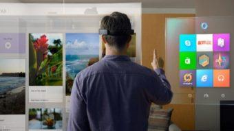 O que é a tal realidade mista da Microsoft?