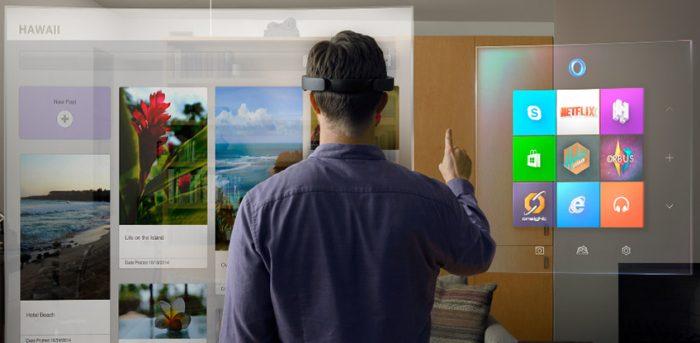 Microsoft / Windows Mixed Reality / o que é realidade mista