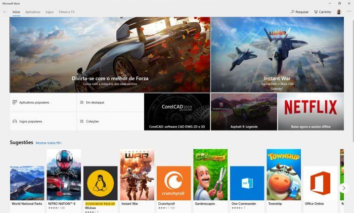 Windows 10 / Microsoft Store
