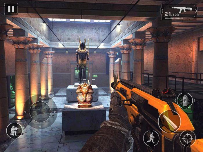 Modern Combat 5 / jogos de tiro online