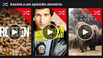 Netflix testa sugerir episódios aleatórios de séries no Android
