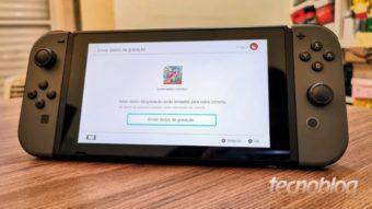 Nintendo pede para não limpar Switch nem Joy-Cons com álcool