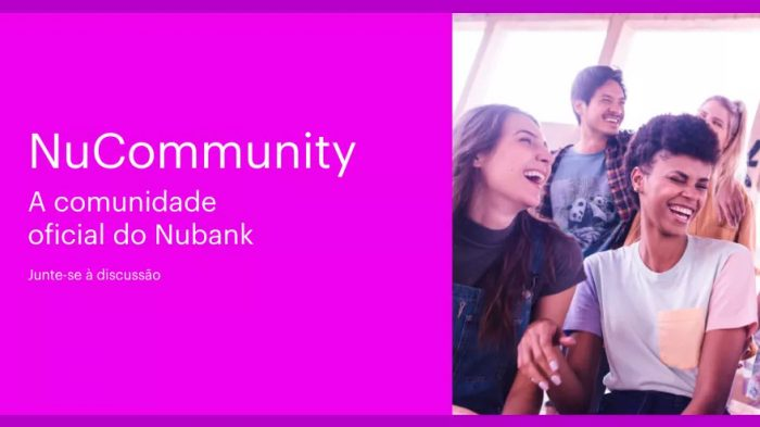 NuCommunity é fórum do Nubank com vantagens a usuários mais ativos