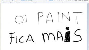 Como recortar imagem redonda no Paint