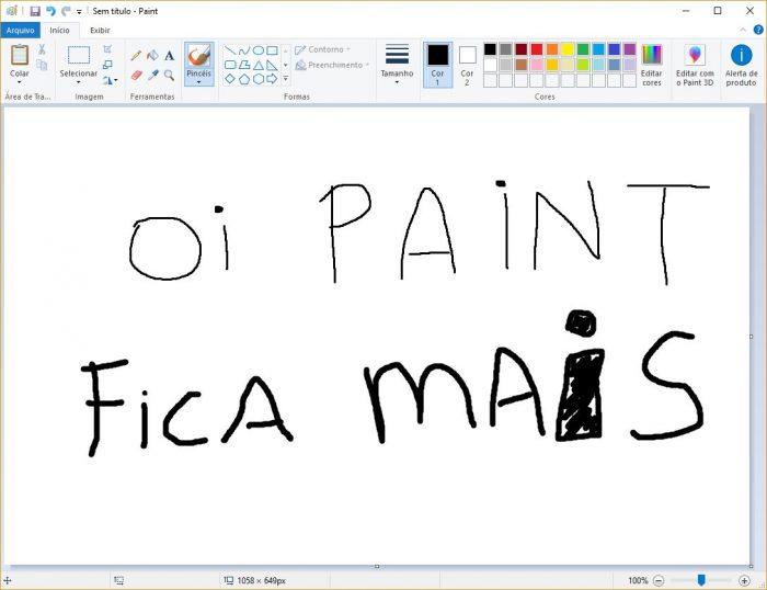 Microsoft / Paint / Como recortar imagem redonda no Paint