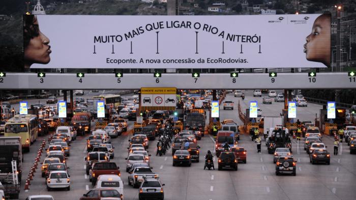 Pedágio - Divulgação: EcoPonte / Rio-Niterói