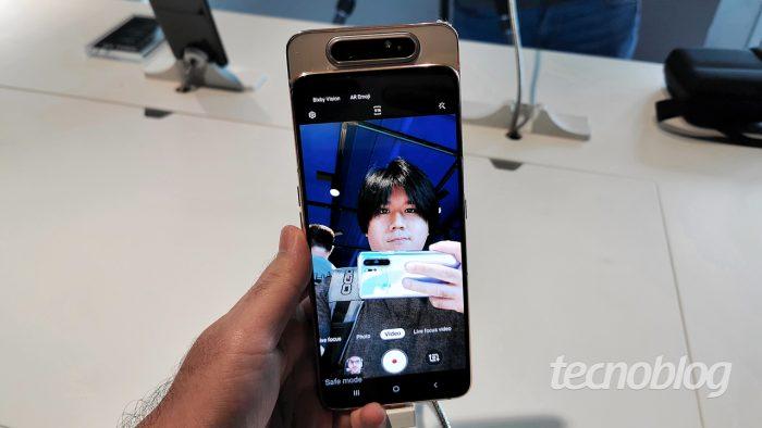 Samsung Galaxy A80 - Câmera