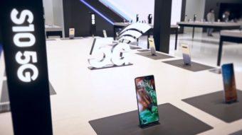 Samsung lança Galaxy S10 5G nos EUA por até US$ 1.400