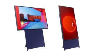 Samsung leva The Sero, TV da que gira na vertical, para mais países