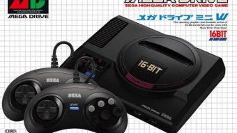 Sega vai lançar Mega Drive Mini com 40 jogos e dois joysticks