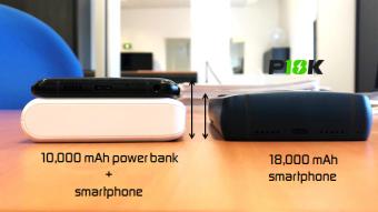 Celular da Energizer com bateria de 18.000 mAh fracassa