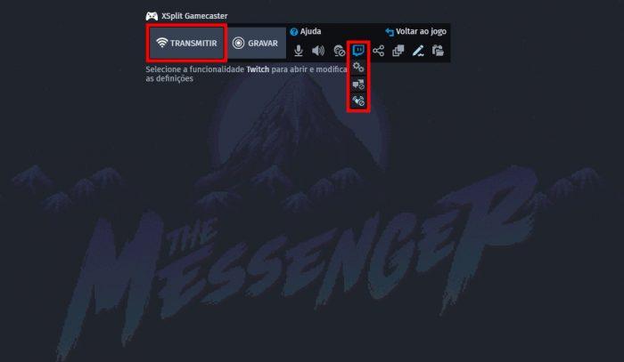 The Messenger / Twitch / como fazer stream na twitch