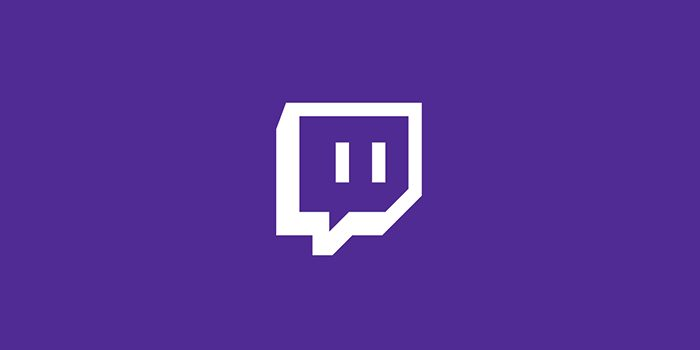 Twitch logo / como fazer stream na twitch