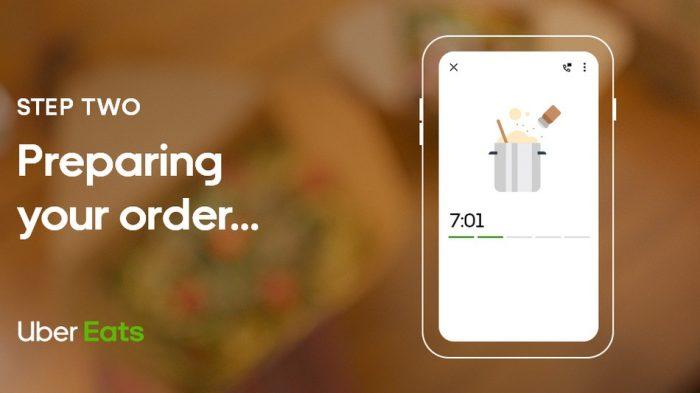 Uber Eats ganha novo visual para dar detalhes sobre pedido