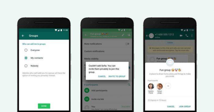 WhatsApp enfim libera recurso para você aceitar ou recusar convites de grupos