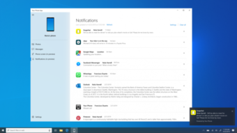 Windows 10 recebe notificações do Android e espelha tela do celular no PC
