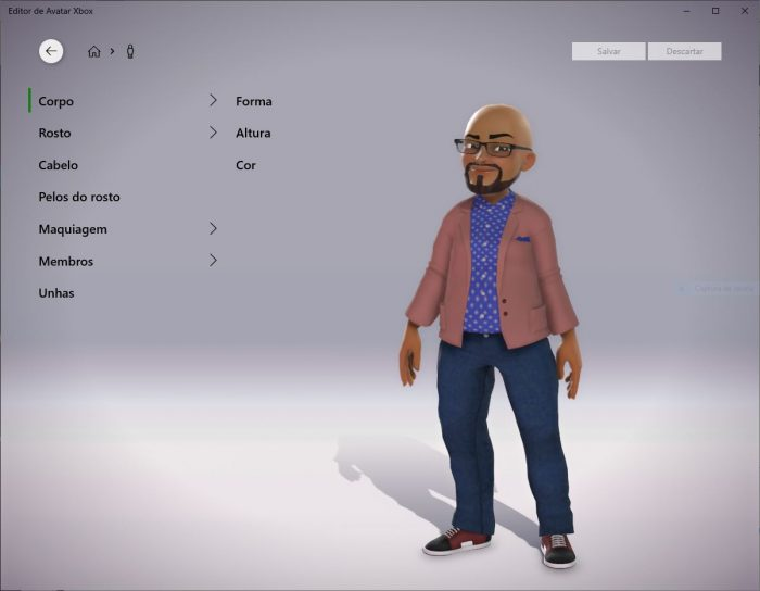 Microsoft / Editor de avatar Xbox