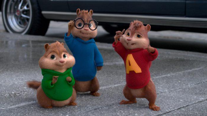 Alvin e os Esquilos - Na Estrada