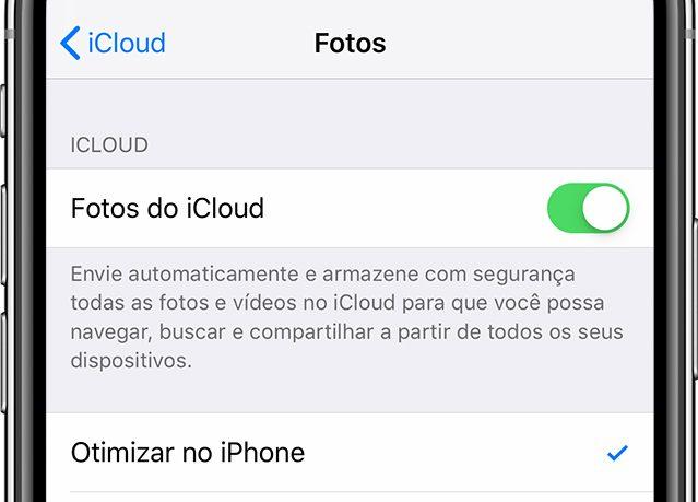 Fotos do iCloud
